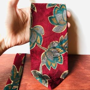 Vintage • Mallory & Church London Silk Tie Men's